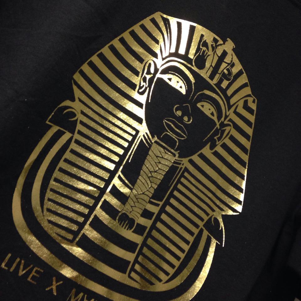 Custom t shirts screen printing pittsburgh kaules for Foil print t shirts custom